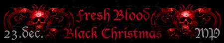 FRESH BLOOD + BLACK CHRISTMAS